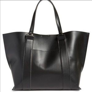 Sole Society Raven oversized tote bag